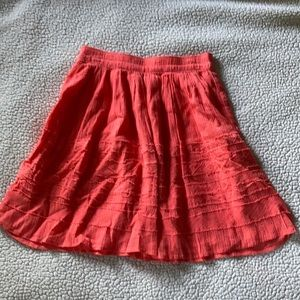 Coral Ruffled Skirt from Old Navy - Sz: XS